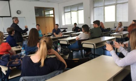 Предавање и радионица доцента Велимира Бланића