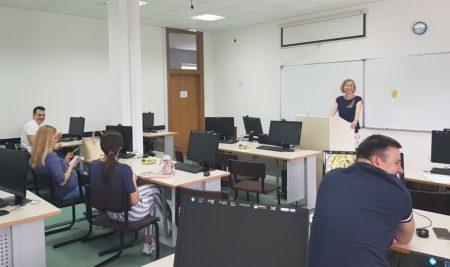 Проф. др Катаржина Молек Козаковска одржала радионицу на Филолошком
