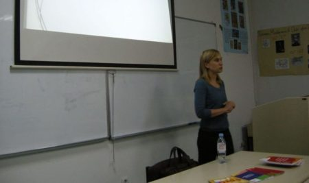 Одржано предавање лекторке словеначког језика