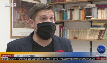 Доц. др Емир Мухић учествовао у програму РТРС-а