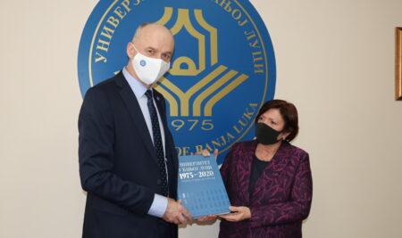 Ректор разговарао са амбасадором Француске у БиХ