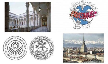 Еразмус плус стипендије за размјену студената на Универзитету у Торину