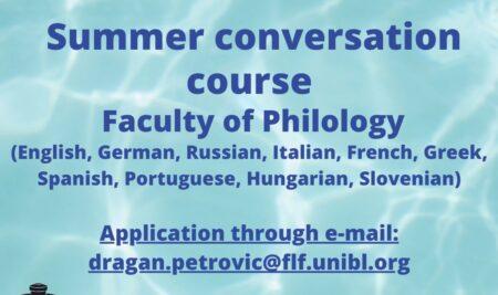 Summer Conversation Course