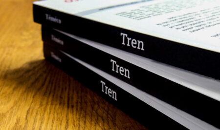 """Двојезична збирка """"Трен"""" објављена и у папирном издању"""